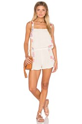 Jens Pirate Booty Willow Romper White