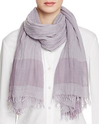 Fraas Lightweight Solid Scarf Mid Gray
