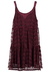 Molly Bracken Summer Dress Bordeaux Black