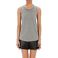 Current Elliott Women's B. Crossover Back Tank Grey
