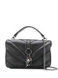 Marc Ellis Quilted Shoulder Bag Black