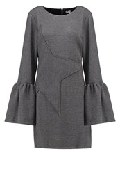 Zac Posen Ashton Jersey Dress Elephant Grey