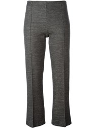 By Malene Birger Cropped Tailored Trousers Grey