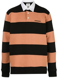 Noon Goons Striped Pattern Polo Shirt 60