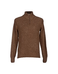 Gran Sasso Turtlenecks Brown