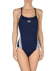 Arena Swimwear Performance Wear Women Dark Blue