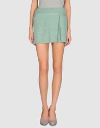 Toton Comella Tcn Mini Skirts Light Green