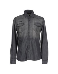 Blend Of America Blend Denim Shirts Black