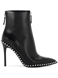 Alexander Wang Studded Ankle Boots Calf Leather Leather 36.5