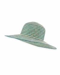Inverni Iris Two Tone Straw Sun Hat Light Brown