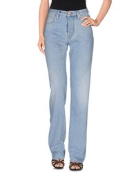 Emporio Armani Denim Denim Trousers Women Blue