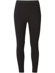 T By Alexander Wang Stretch Leggings Black
