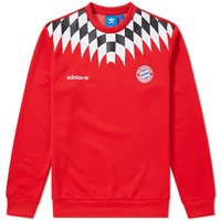 Adidas Fc Bayern Crew Sweat Red