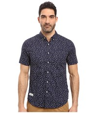 7 Diamonds Editions Of You Short Sleeve Shirt Navy Men's Short Sleeve Button Up
