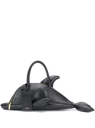 Thom Browne Pebble Leather Dolphin Bag 60