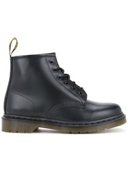 Dr. Martens 6 Eye Boots Men Leather 7 Black