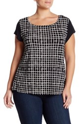 Tart Karma Blouse Plus Size Black