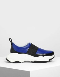 Charles And Keith Chunky Sneakers Blue