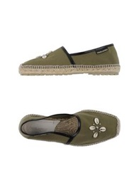 Dsquared2 Espadrilles Military Green