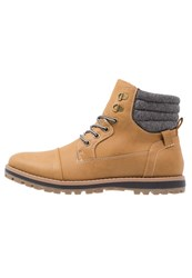 New Look Laceup Boots Tan