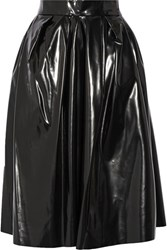 Marc Jacobs Vinyl Skirt Black