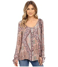 O'neill Raquel Long Sleeve Top Multi Color Women's Long Sleeve Pullover