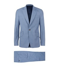 Vivienne Westwood Mini Houndstooth Suit Male Blue