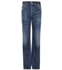 Citizens Of Humanity Vera High Rise Straight Jeans Blue