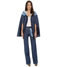 See By Chloe Denim Patch Cape