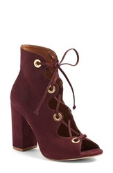 Steve Madden Women's 'Carusso' Lace Up Peep Toe Bootie