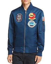 Schott Uss Lexington Souvenir Jacket 100 Bloomingdale's Exclusive Navy