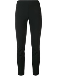 Tory Burch Skinny Trousers Black