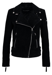 Freaky Nation Leather Jacket Black