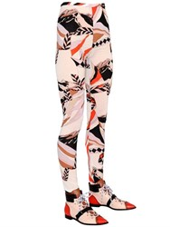 Emilio Pucci Mountain Stretch Silk Blend Gauze Pants