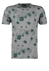 Villain Ezio Print Tshirt Grey Splash
