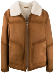 Drome Shearling Lined Suede Jacket 60