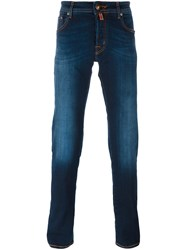Jacob Cohen Light Stonewash Slim Fit Jeans Blue