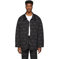 Fear Of God Black Logo Field Jacket