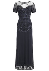 Lace And Beads Kamilla Occasion Wear Navy Dark Blue