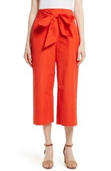 Kate Spade Women's New York Tie Front Culottes Cherry Pepper
