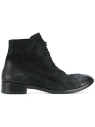 The Last Conspiracy Derby Boots Leather Black