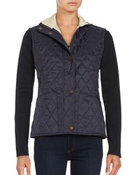 Barbour Liddesdale Quilted Vest Navy