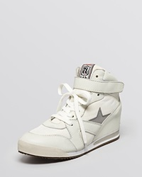 Ash Lace Up High Top Wedge Sneakers Jazz Bis
