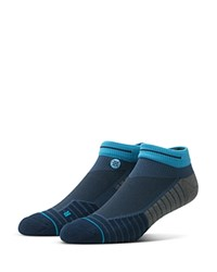 Stance Hiccup Athletic Low Cut Ankle Socks Blue
