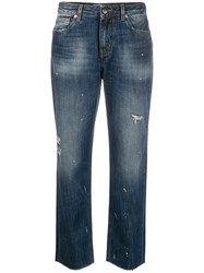 Pt05 Distressed Boot Cut Jeans 60
