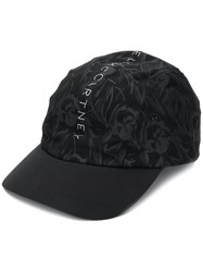 9d4e2f5cd35 Adidas By Stella Mccartney Logo Print Cap Black
