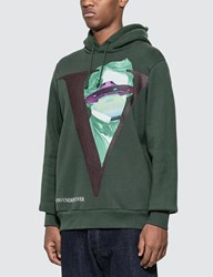 Undercover Valentino X V Face Hoodie Green