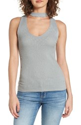 Women's Bp. Rib Knit Tank Green Aqua