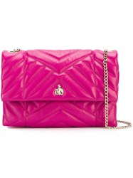 Lanvin Mini 'Sugar' Shoulder Bag Pink And Purple
