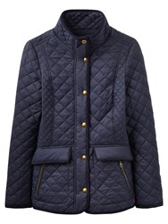 Joules Newdale Quilted Jacket Marine Navy